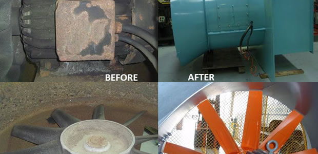 industrial fan repairs and replacements