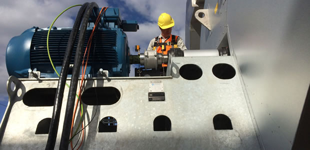 industrial air system testing and commissioning